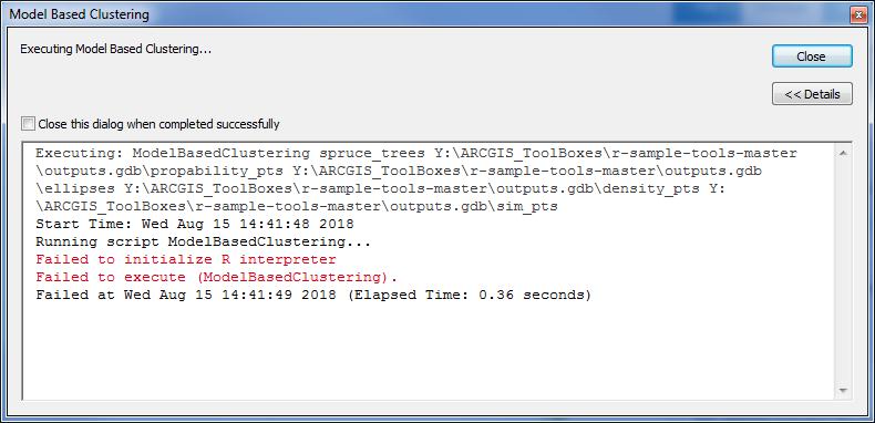 Error: Failed to initialize R interpreter · Issue #73 · R