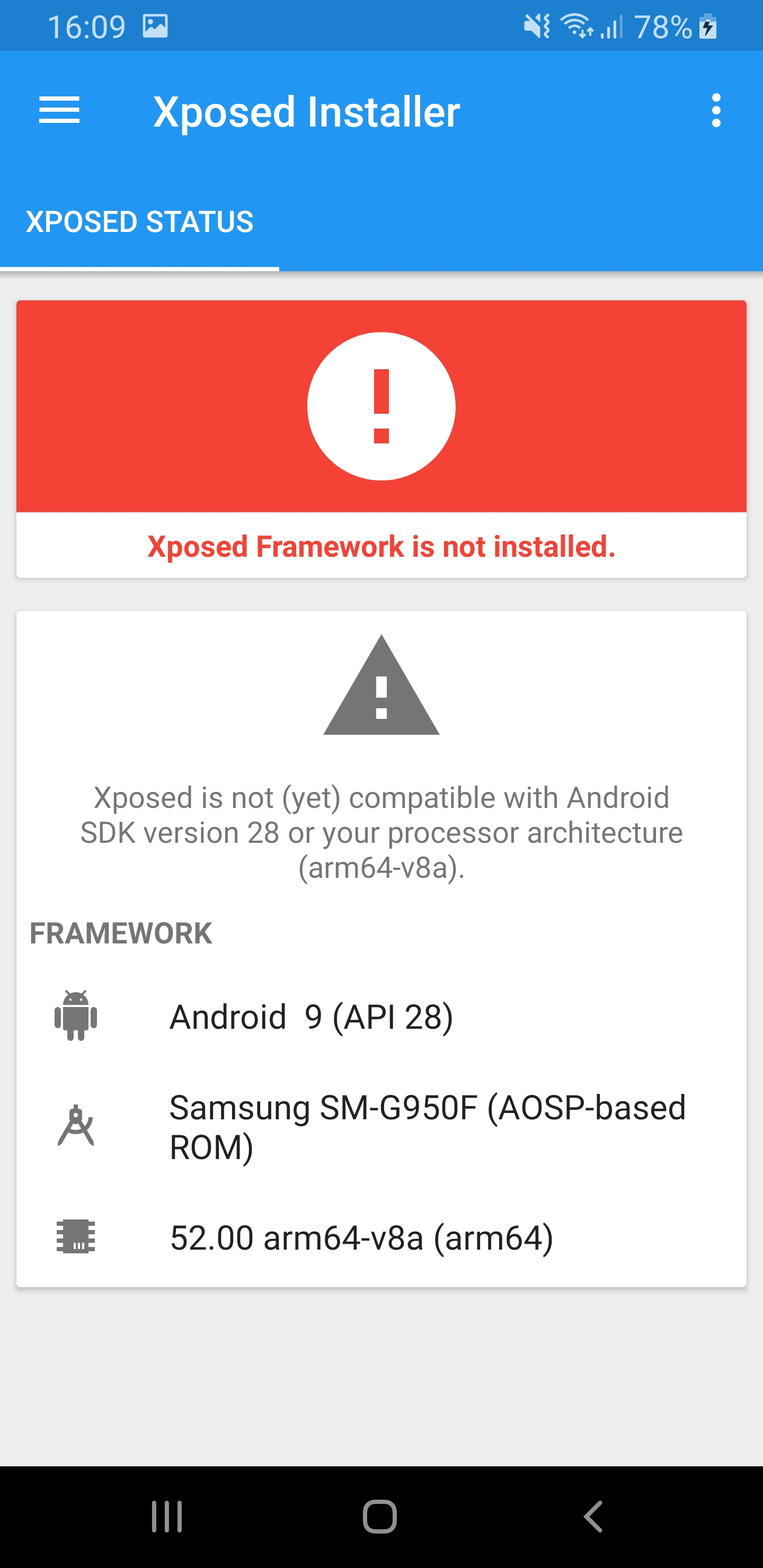 BUG] Ed Xposed doesn't work with Samsung firmware · Issue #39