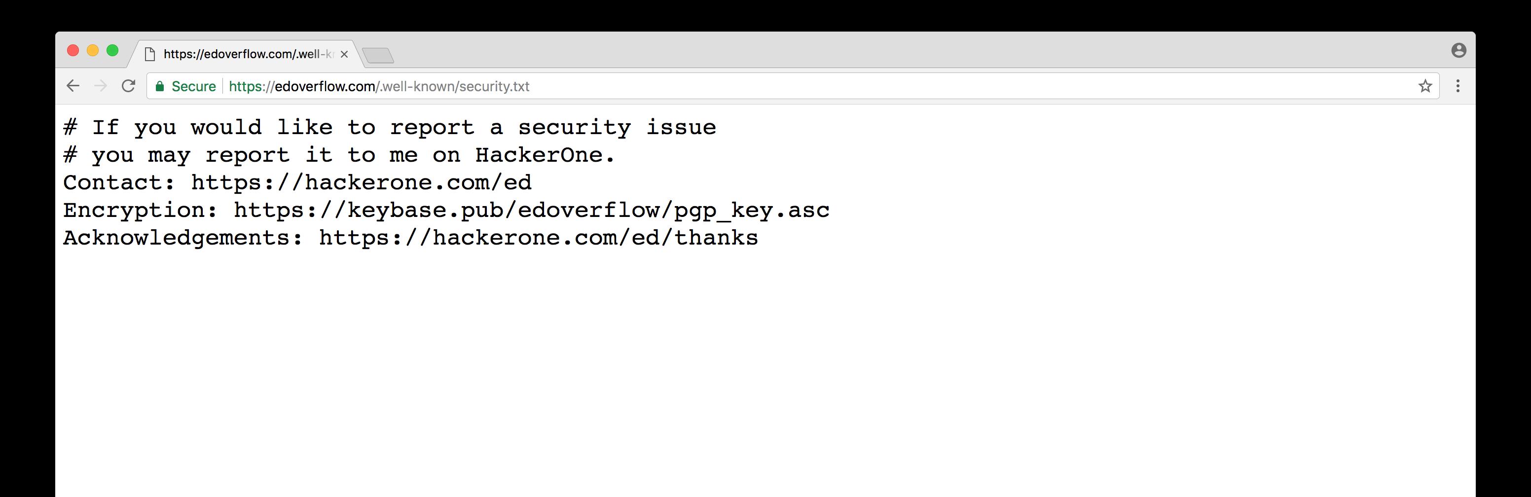 Propuesta security.txt