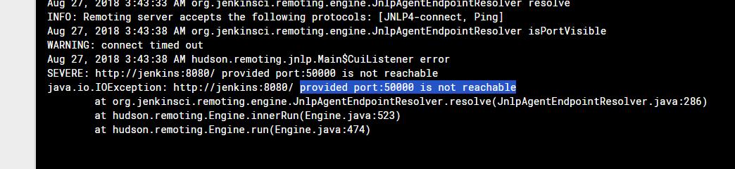jenkins install has a problem