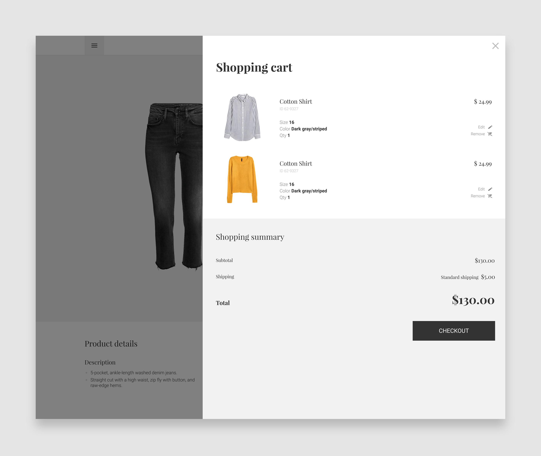 storefront screenshots
