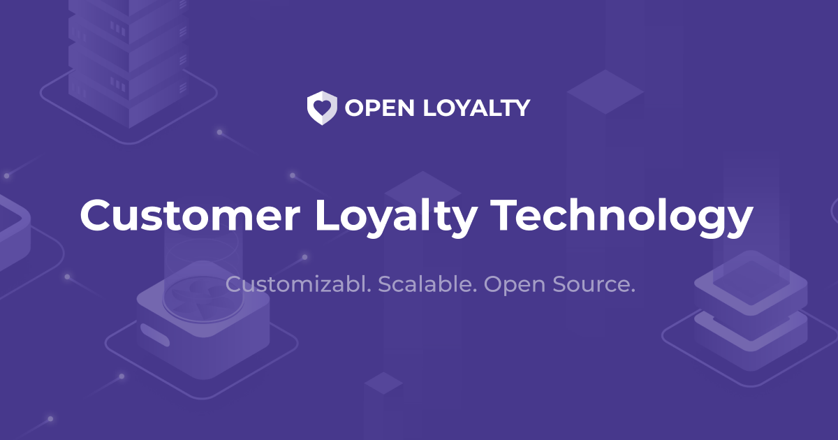 Customer Loyalty Management Sotftware - Open Loyalty