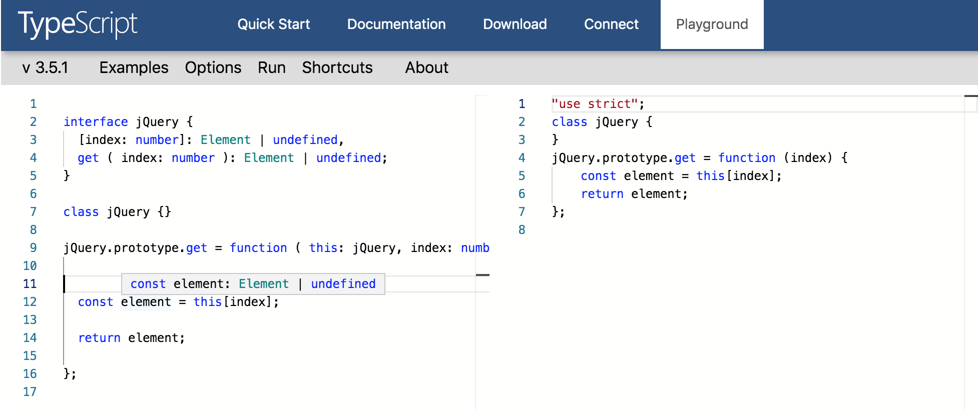 Incorrect TypeScript types · Issue #78495 · microsoft/vscode