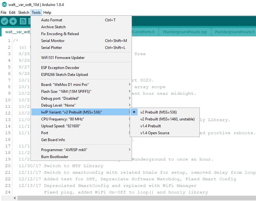 v2 4 0 - ESP8266WebServer missing · Issue #4085 · esp8266