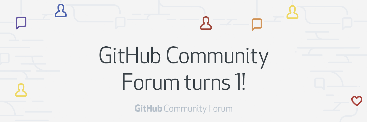 GitHub Community Forum turns 1