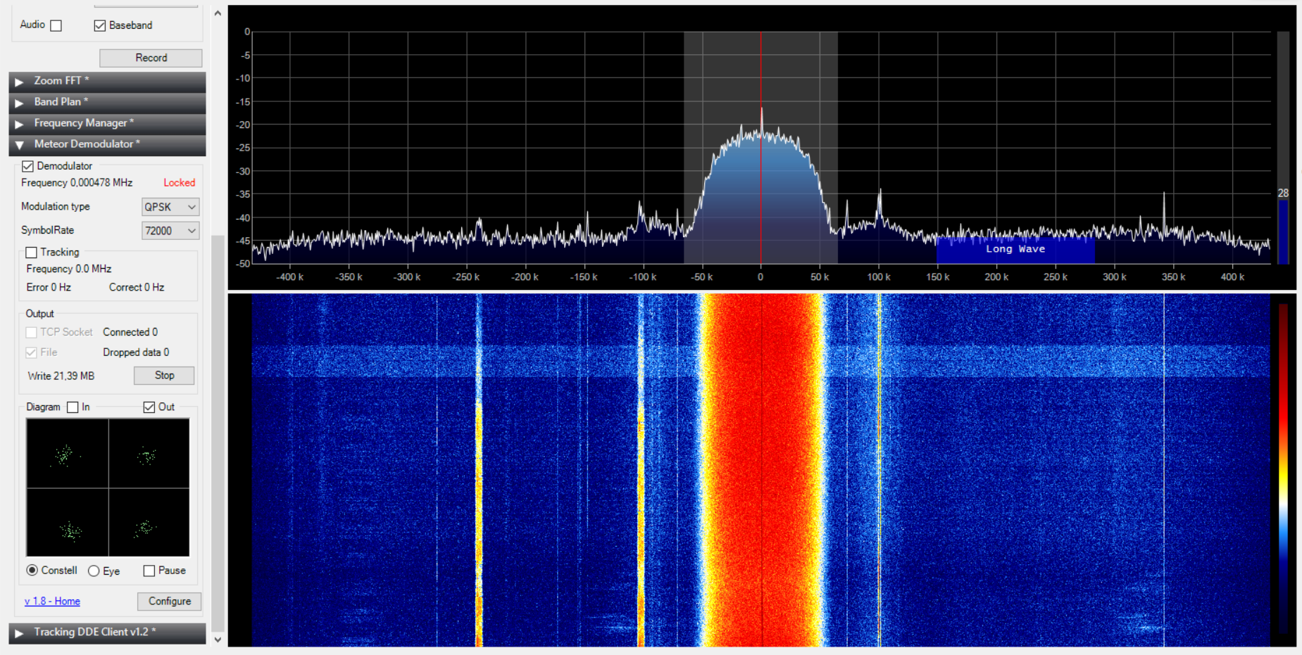 Cannot demodulate file from Gqrx after SoX conversion to  wav