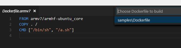 Support Dockerfile With Arbitrary Names For Docker Build Issue 92 Microsoft Vscode Docker Github