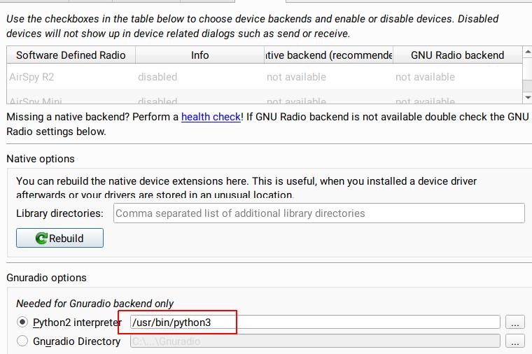 Crash when using Spectrum Analyzer with GR backend · Issue