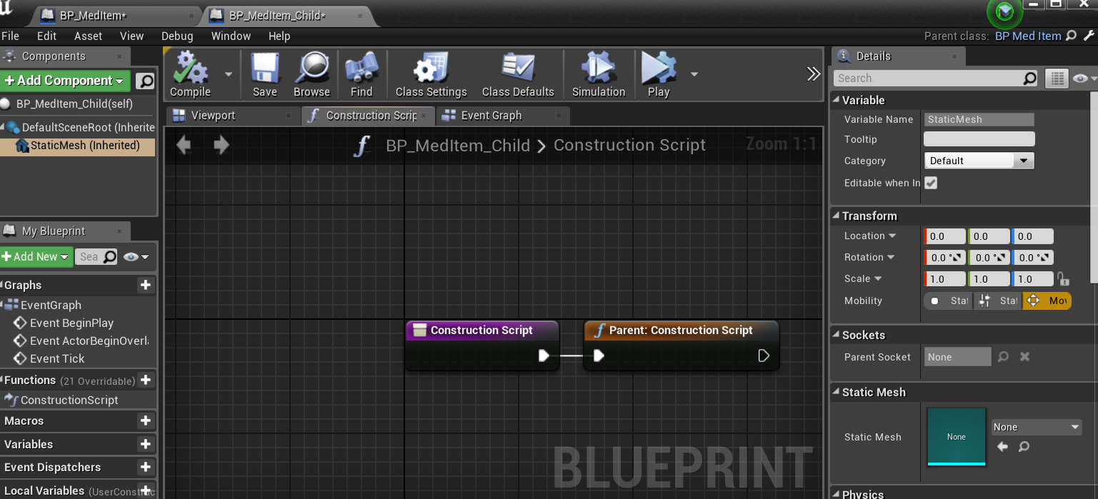 Get reference to component in blueprint asset · Issue #457