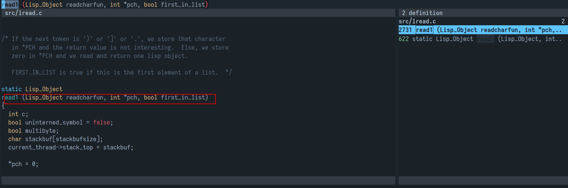Feature request] Flash target line when navigating in `lsp