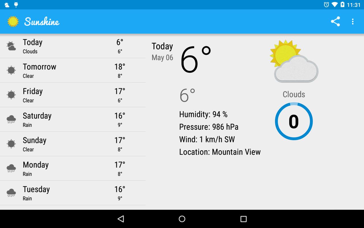 GitHub - hyewon0723/sunshine_lesson4: Sunshine App(Weather) is the