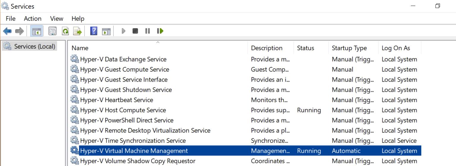 Docker Crashes on Start - Docker for Windows Version: 18 03
