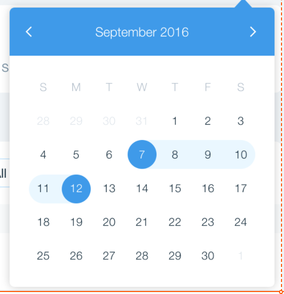 Allow to click on the calendar without closing it · Issue