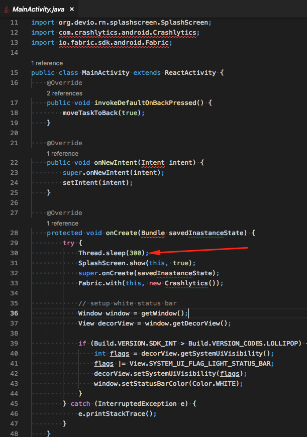 Random JSApplicationIllegalArgumentException crashes on Android