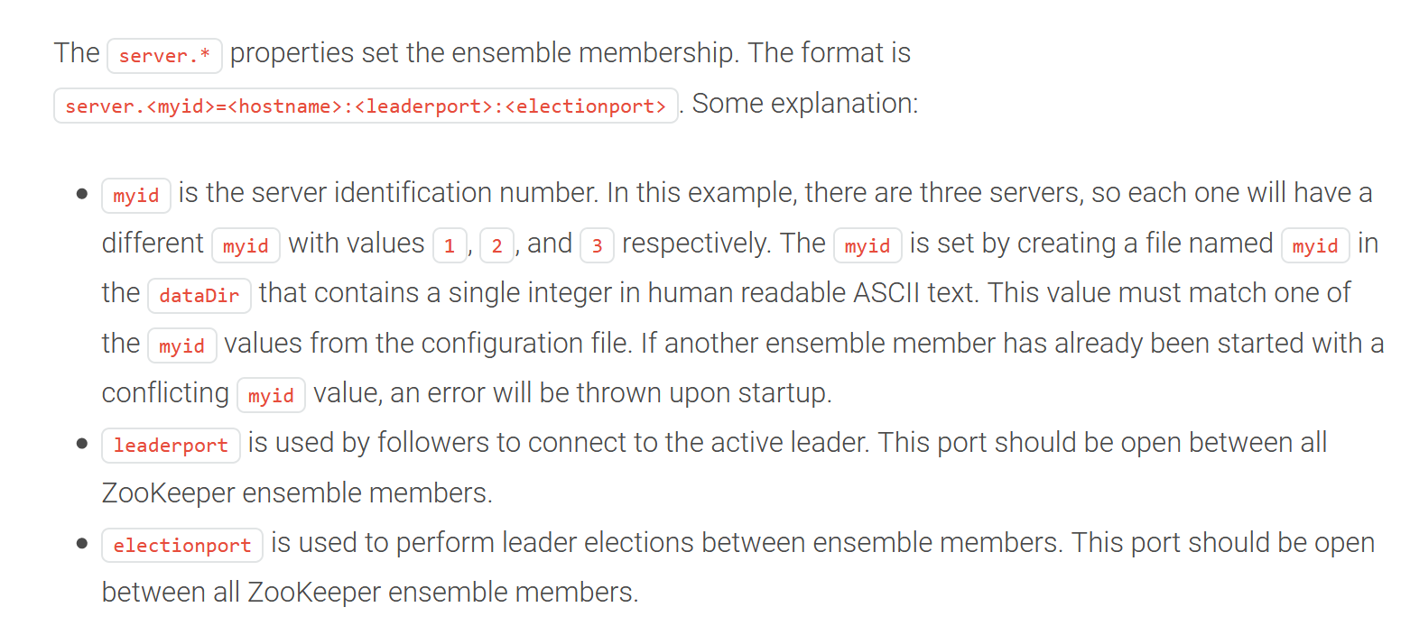 Zookeeper ensemble name resolution issues at startup · Issue
