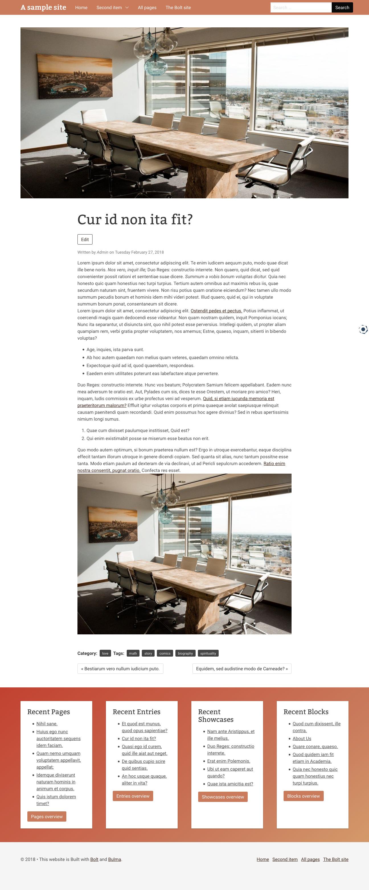 screenshot-2018-3-13 cur id non ita fit a sample site