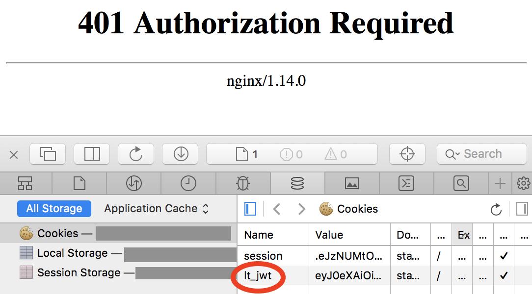 Nginx Jwt Example