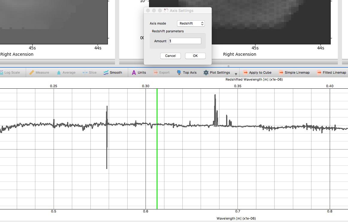 Converting from Observed to Rest-frame Wavelengths in SpecViz