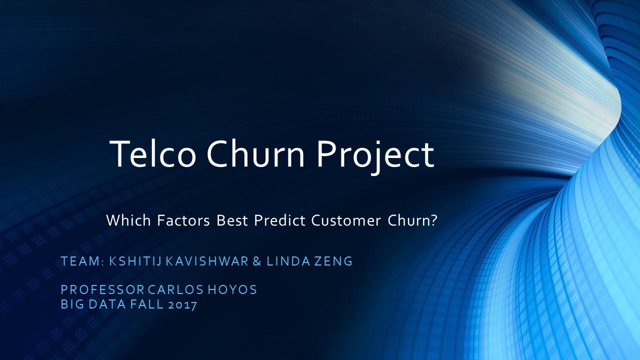 GitHub - lzeng18/Telco_Churn_Project: Analyzing