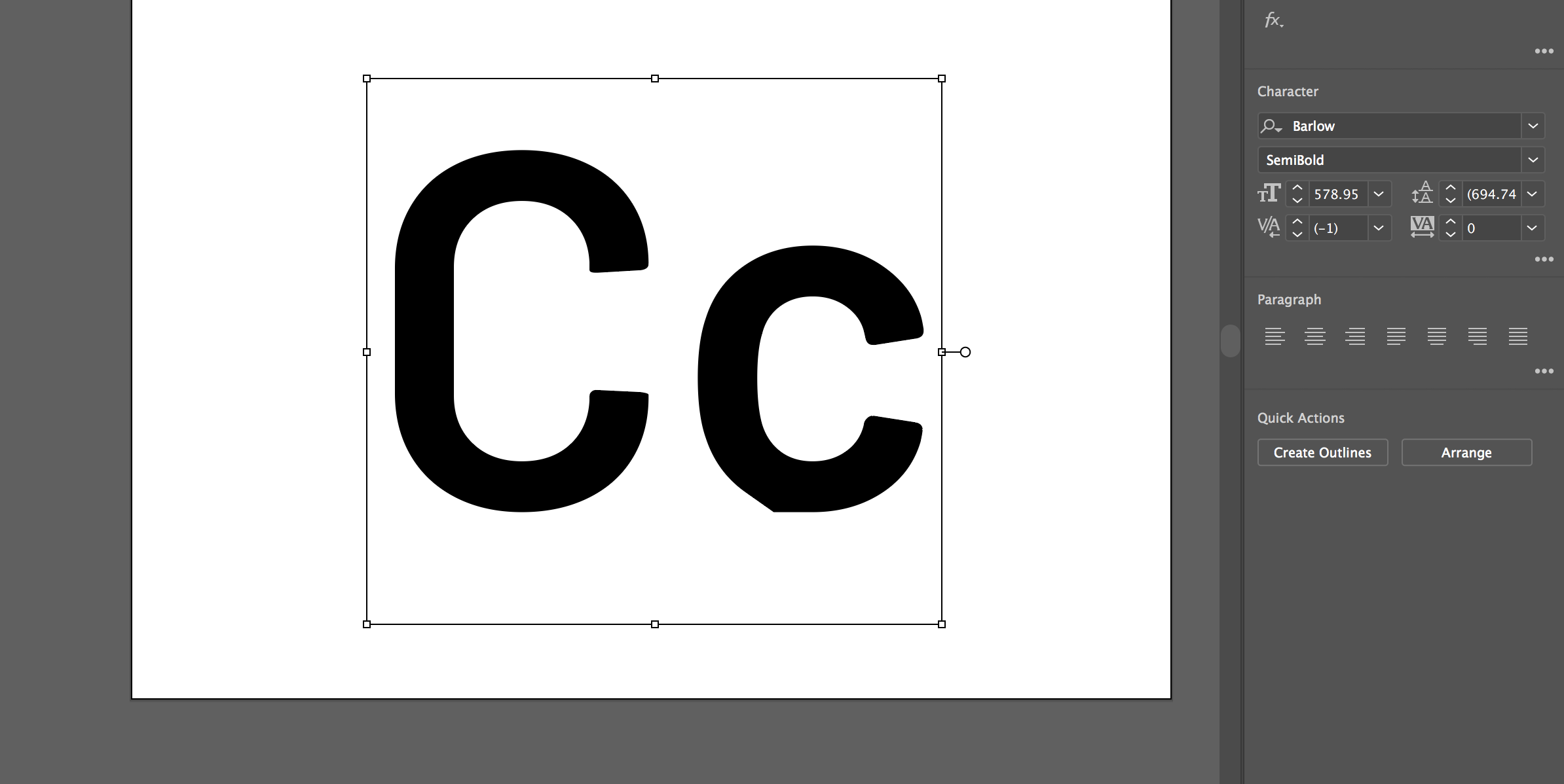 Barlow lower case 'c' issue · Issue #33 · jpt/barlow · GitHub