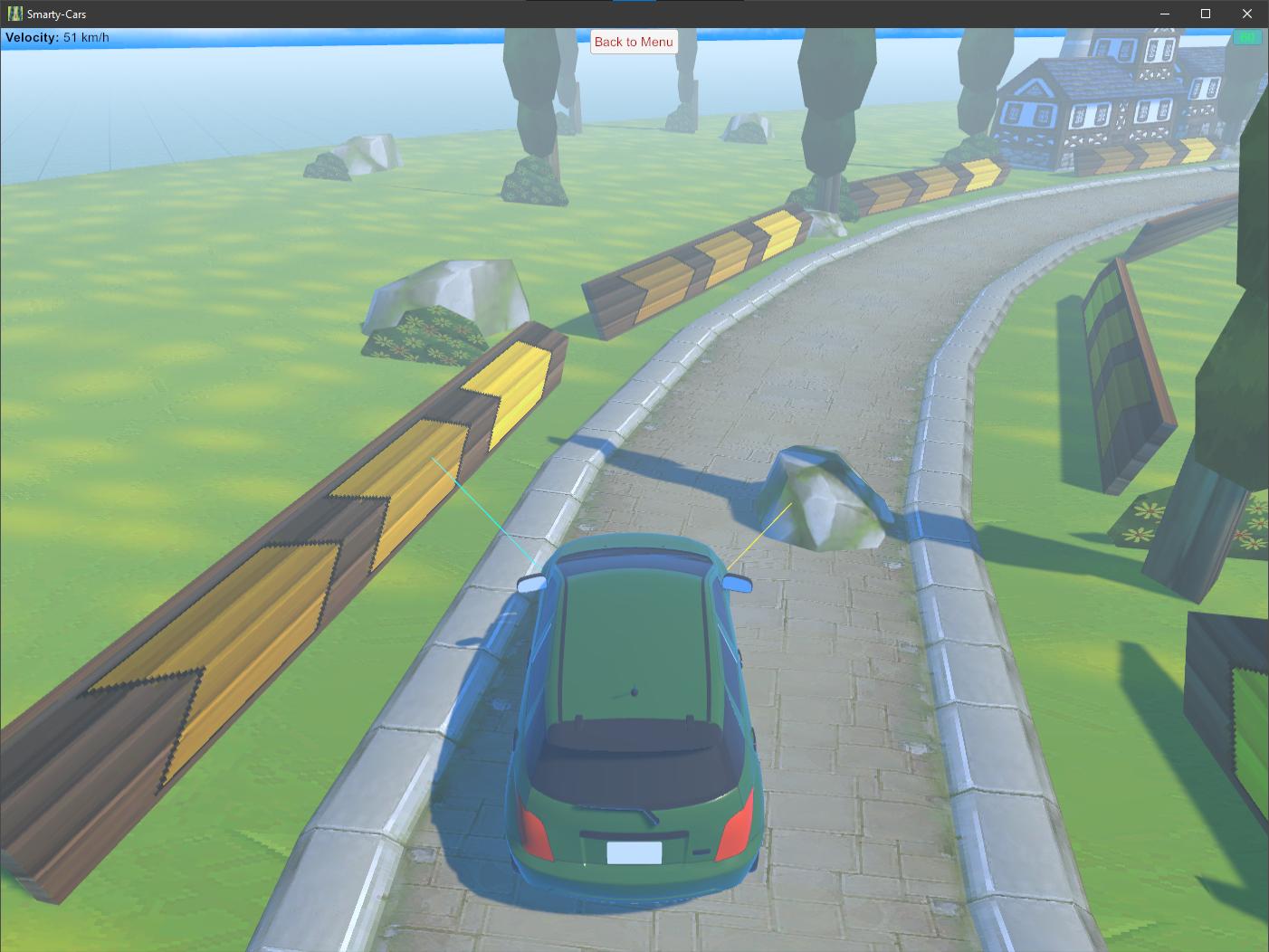 Smarty-Cars Steering Behaviour