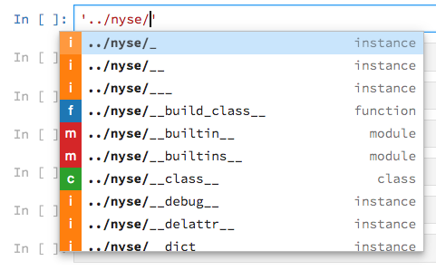 Auto-complete within strings doesn't only show file paths · Issue