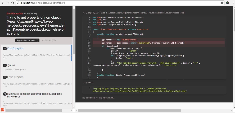 Envato is not working  · Issue #542 · ladybirdweb/faveo-helpdesk