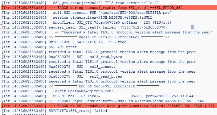 SSL Handshake error - SSSLERR_SSL_READ (-58) · Issue #1225 · larshp