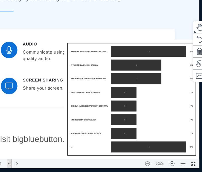 امکان نمایش نتایج نظرسنجی به کاربران در بیگبلوباتن