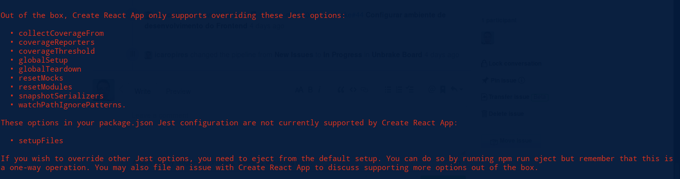 add option to fail tests that print errors and warnings · Issue