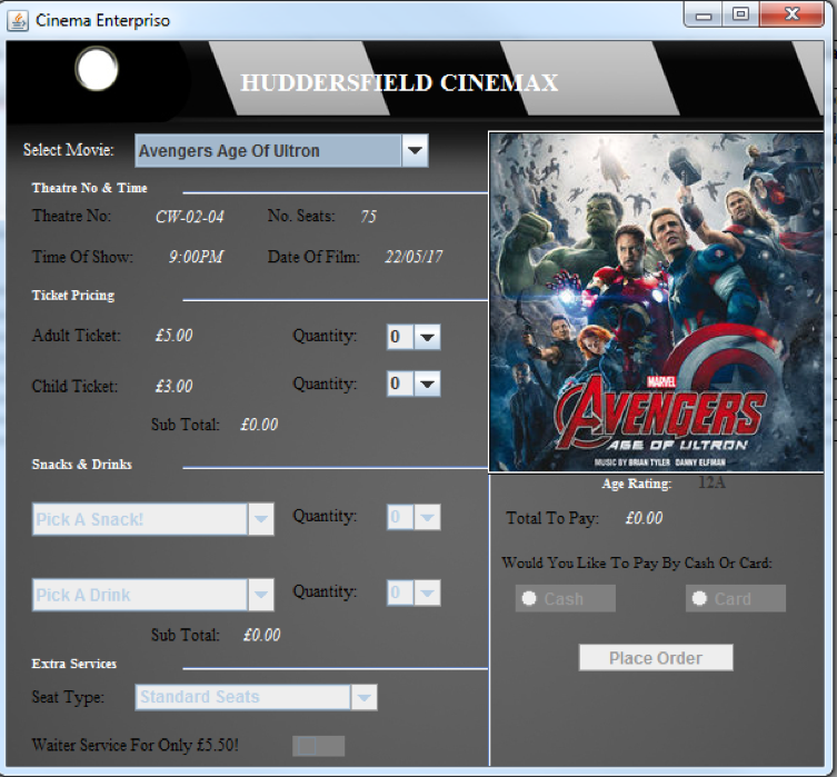 README md Images · Issue #1 · O-Luhishi/Java-Cinema-Checkout