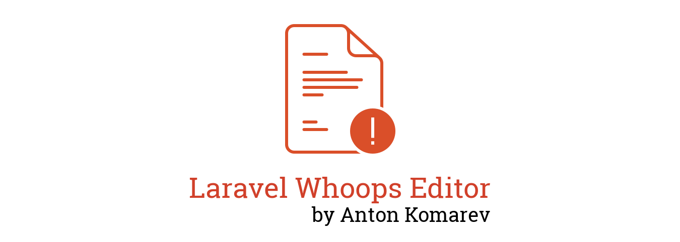Laravel Whoops Editor