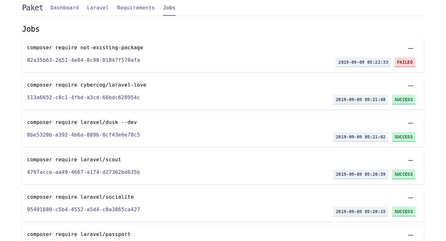 Laravel Paket Jobs