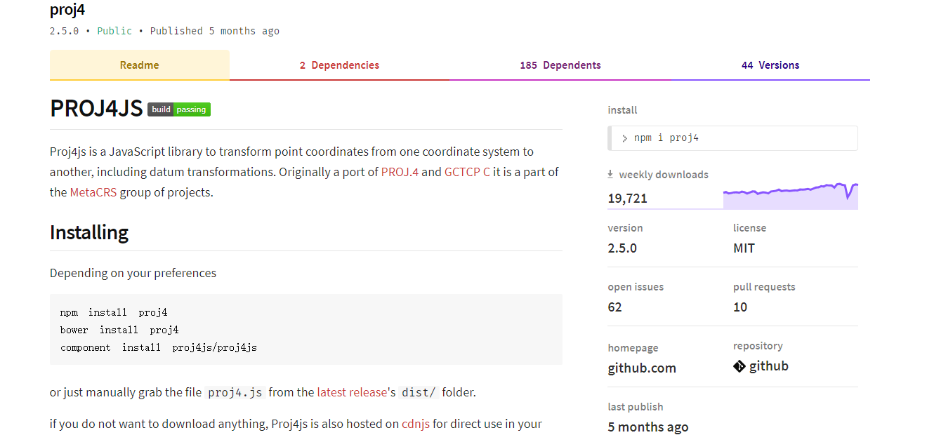 npm-proj4 · Issue #29 · mowatermelon/learn-es6 · GitHub
