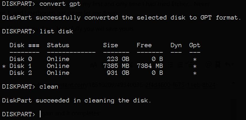 Etcher broke my USB · Issue #2102 · balena-io/etcher · GitHub