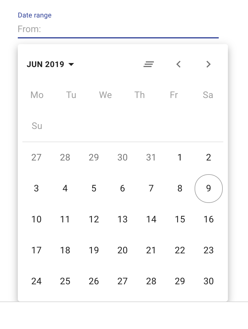 Feature Request: Ability to select a date range · Issue #364