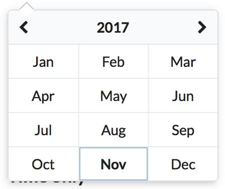 Plans to support month/year picker? · Issue #2 · arfedulov