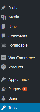 page template not showing wordpress