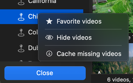 Cache Missing Videos