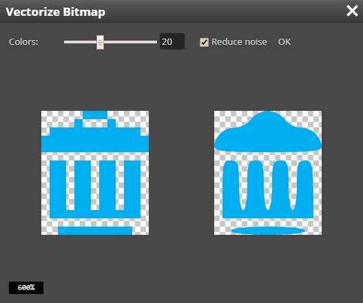 Pixelated vectorizing · Issue #673 · photopea/photopea · GitHub