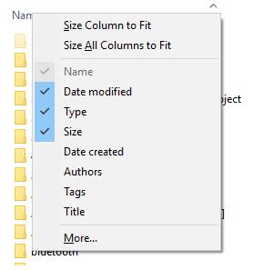 Can I hide columns in list view? · Issue #2370 · Studio-42/elFinder