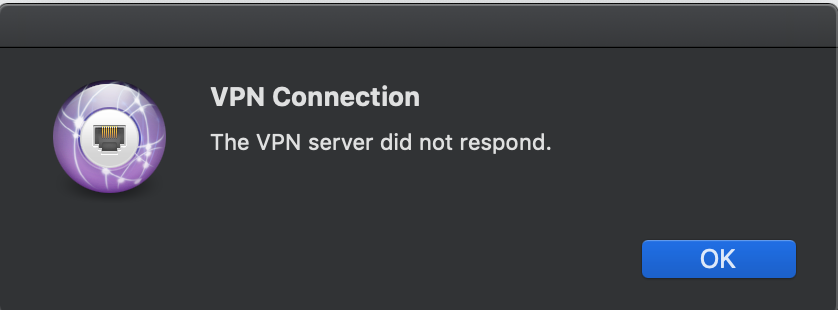 Algo VPN stops connecting after a day - An unexpected error