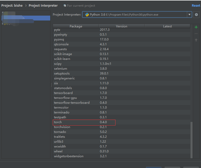 Torch can not run in Pycharm but it work in cmd · Issue #7575