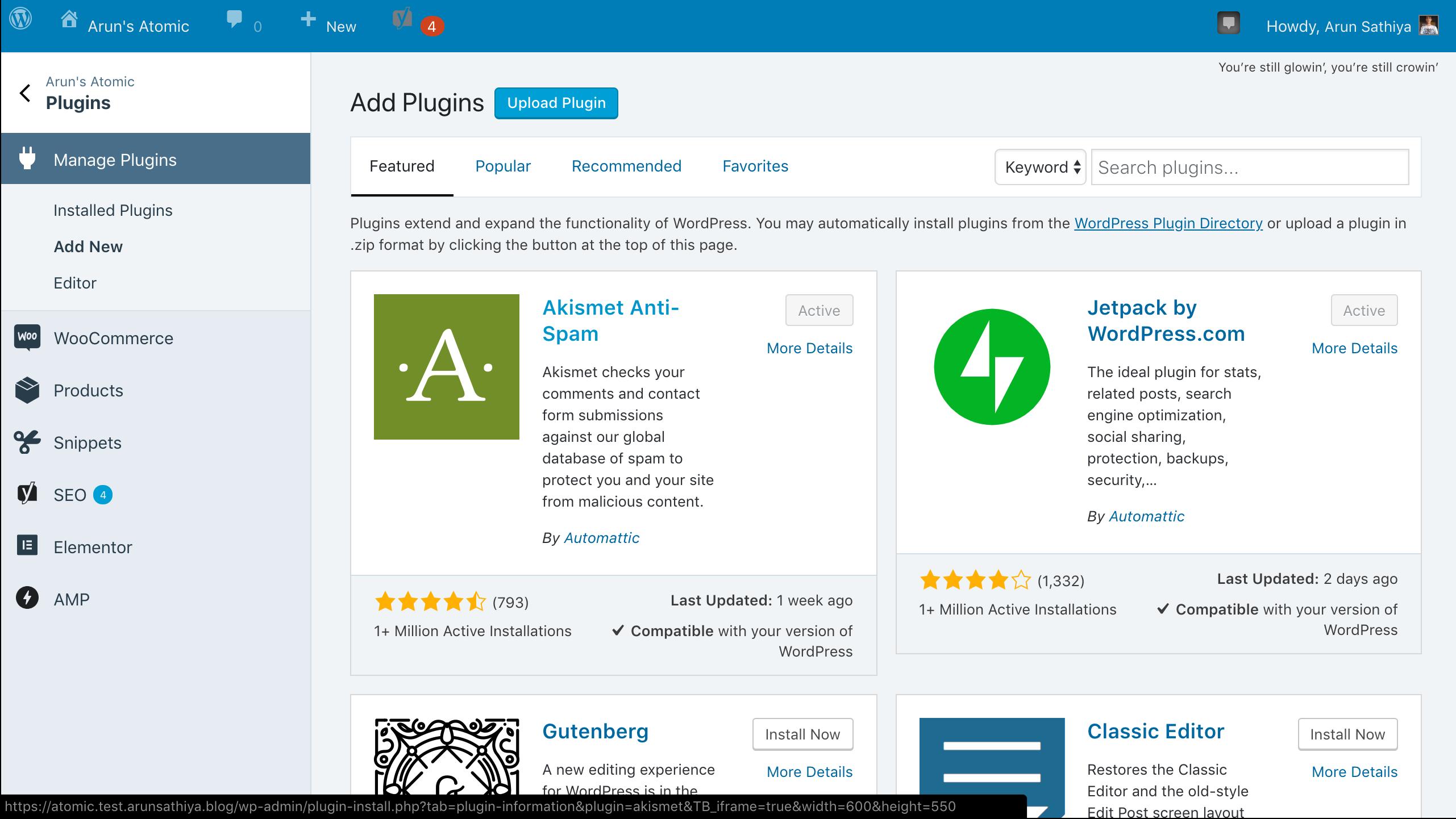 Calypsoify: Icon alignment issues with core WordPress admin