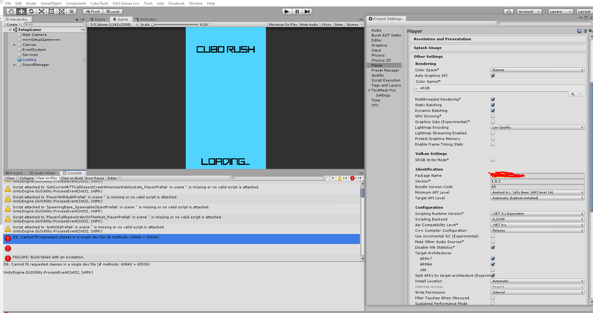 Unity Android Build failed with Facebook SDK for Unity (The