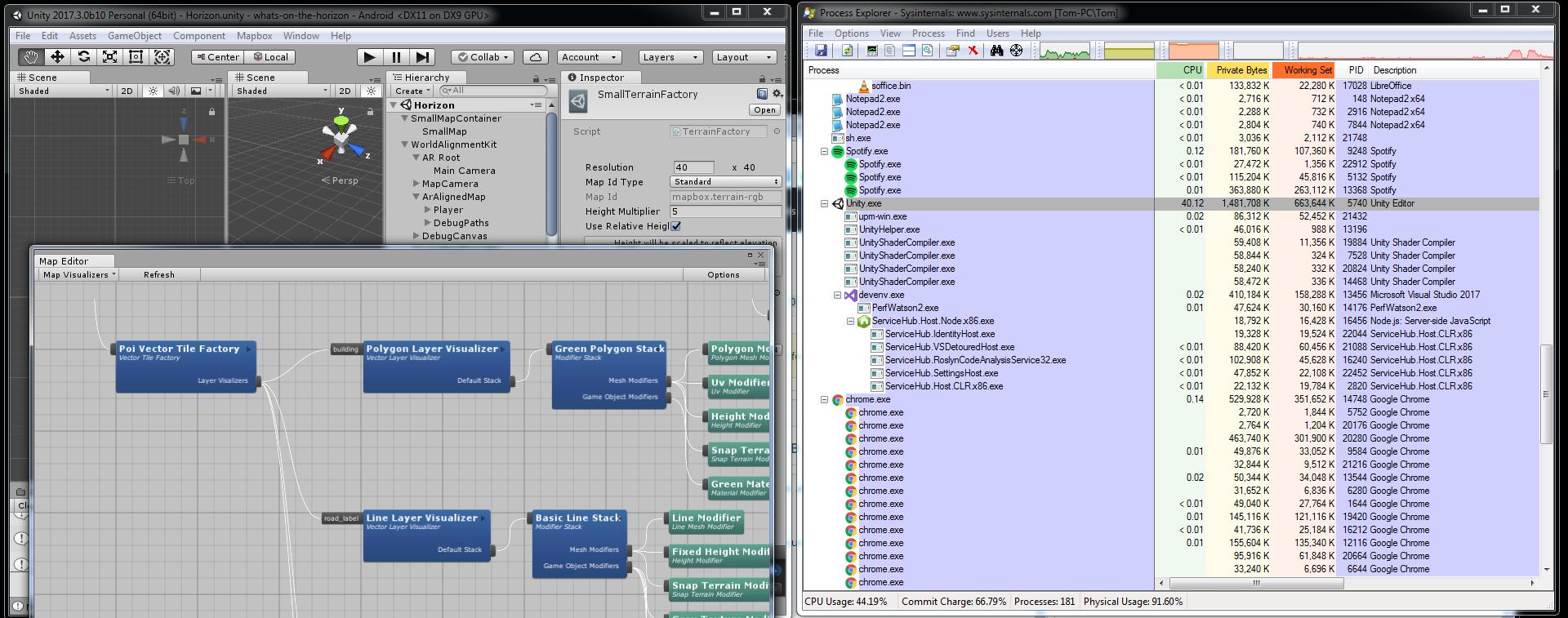 MapEditor Unity Window High CPU · Issue #392 · mapbox/mapbox