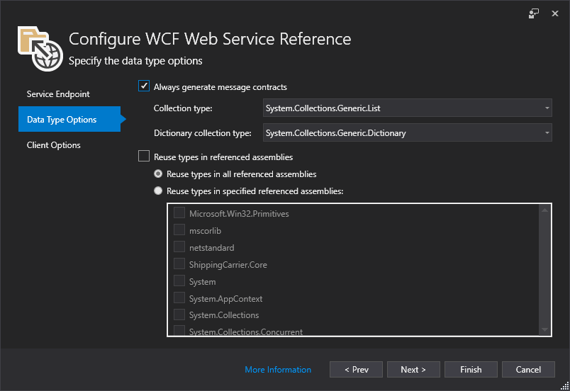 WCF Client generator requires a build before it will generate code