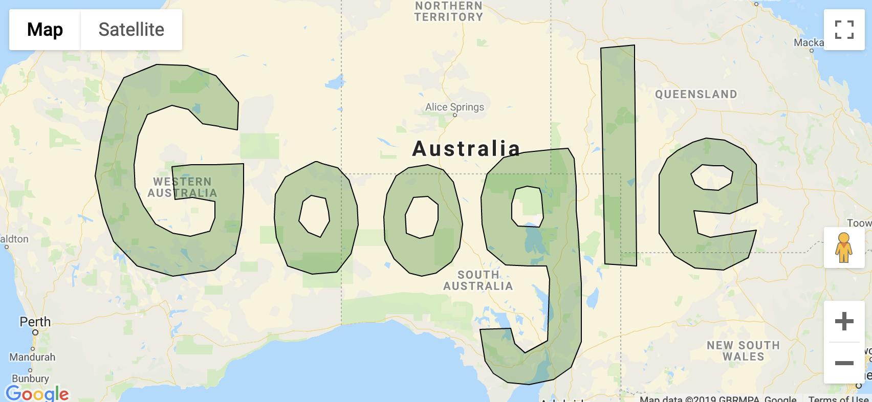 Support data layers, polygons, GeoJSON in google maps plugin