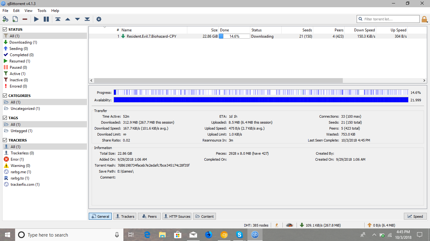 where does qbittorrent save files