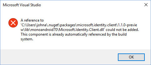 dll reference for Xamarin Forms Android error · Issue #441
